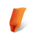 Pakke med 2 stk. silikone EGO Biogreb (Straight) i orange - Op til 19MM tube