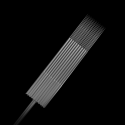 Pakke med 5 stk. Killer Ink Precision 0.35 mm sterile, Magnum weaved nåle i rustfrit stål