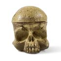 Kranieformet tattoo blækkopholder