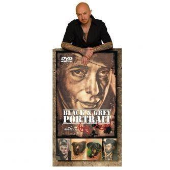 Andy Engel sort & Gråt portræt DVD
