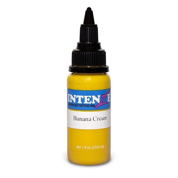 Intenze Ink Pastel Banana Cream 30ml (1oz)