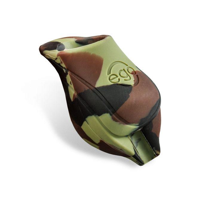 Pakke med 2 stk. silikone EGO biogreb i grøn camouflage - 25MM tube