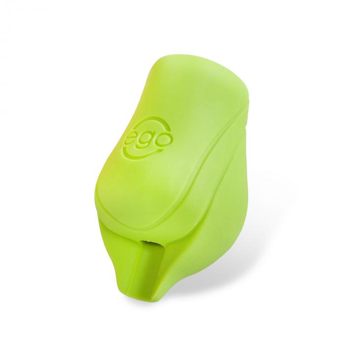 Pakke med 2 stk. silikone EGO Biogreb (No Back Lip) i grøn - Op til 19MM tube