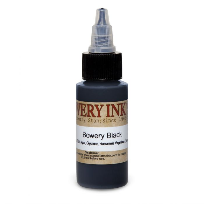 Intenze Bowery Ink by Stan Moskowitz Black 30ml (1oz)