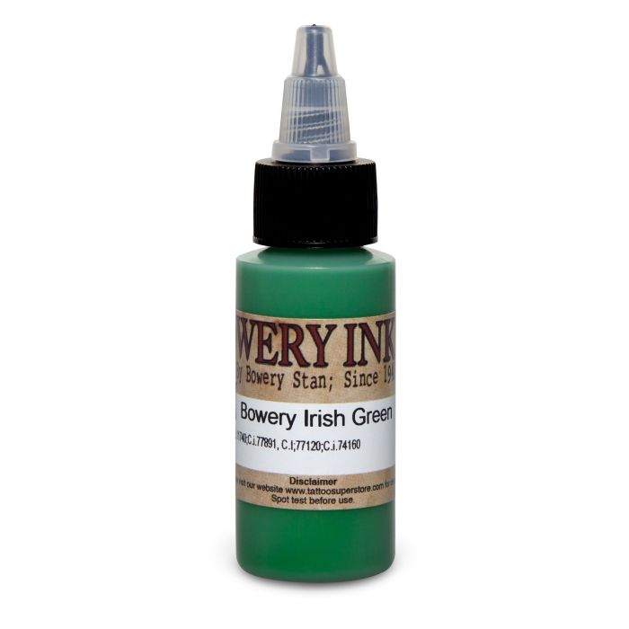 Intenze Bowery Ink by Stan Moskowitz Irish Green 30ml (1oz)