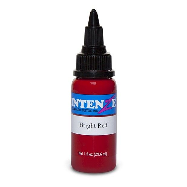 Intenze Ink Basic Bright Red 30ml (1oz)