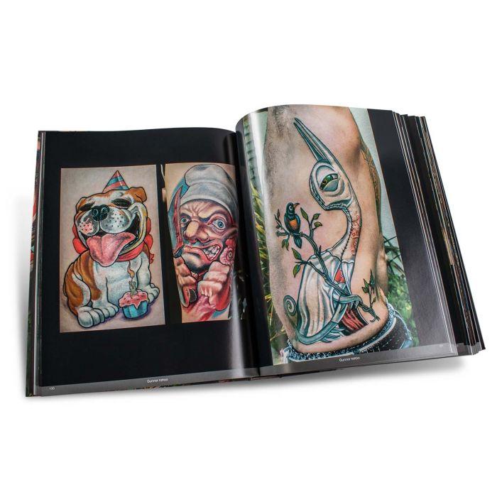 Color Tattoo Art: Comics, Cartoon, Pin-Up, Manga + New School - Edition Reuss