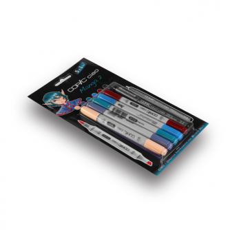 Copic CIAO tuscher - Manga 2 - Pakke med 5+1