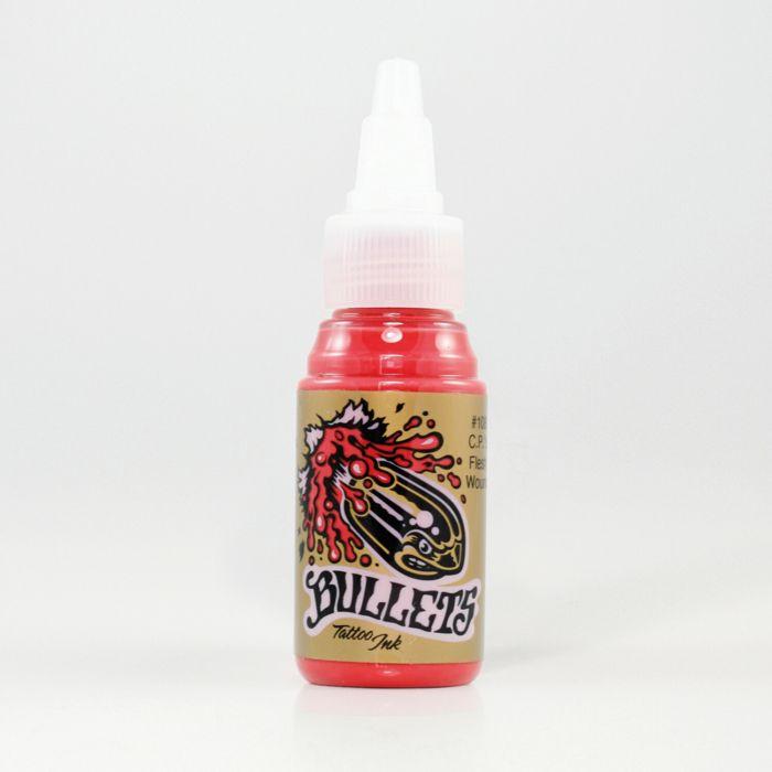 Bullets C.P.'s Flesh Wound, 35 ml Bullets Tattoo Ink