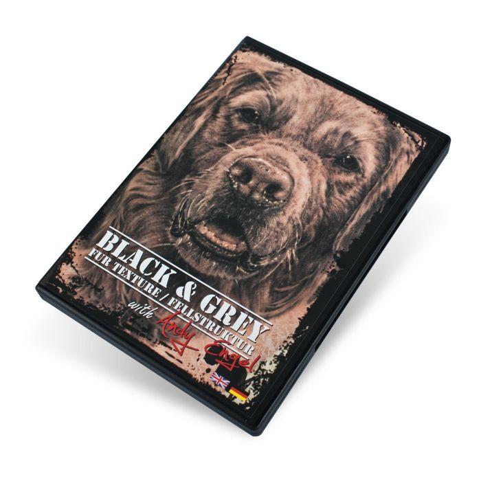 Andy Engel sort & Grå pelstekstur DVD