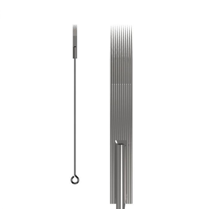 Pakke med 50 stk. KWADRON nåle 0.35 mm LONG TAPER - fladt