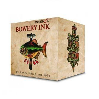 Komplet sæt med 8 stk. Intenze Bowery Ink af Stan Moskowitz 30ml (1oz)