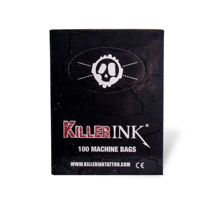 Pakke med 100 stk. Killer Ink poser til tatoveringsmaskine
