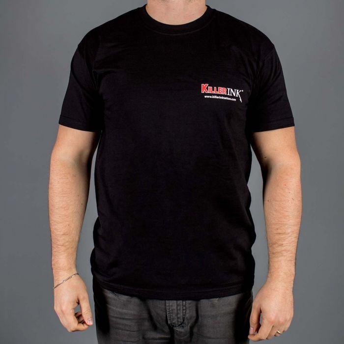 Killer Ink T-shirt med rund hals i sort