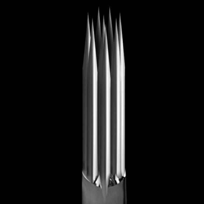 Pakke med 50 stk. KWADRON nåle 0.40MM LONG TAPER - round Shader
