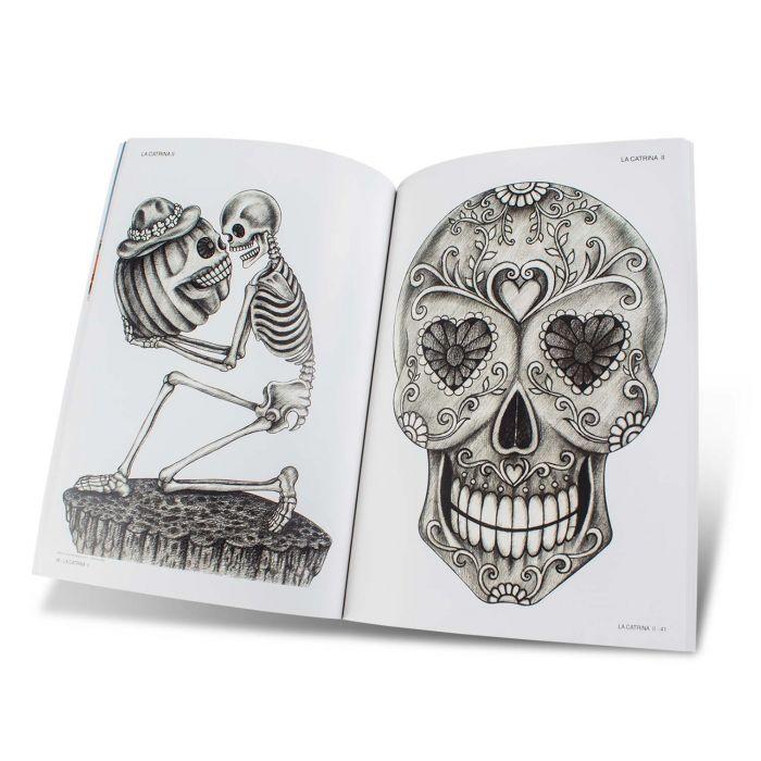 La Catrina II Book & Sugar Skulls