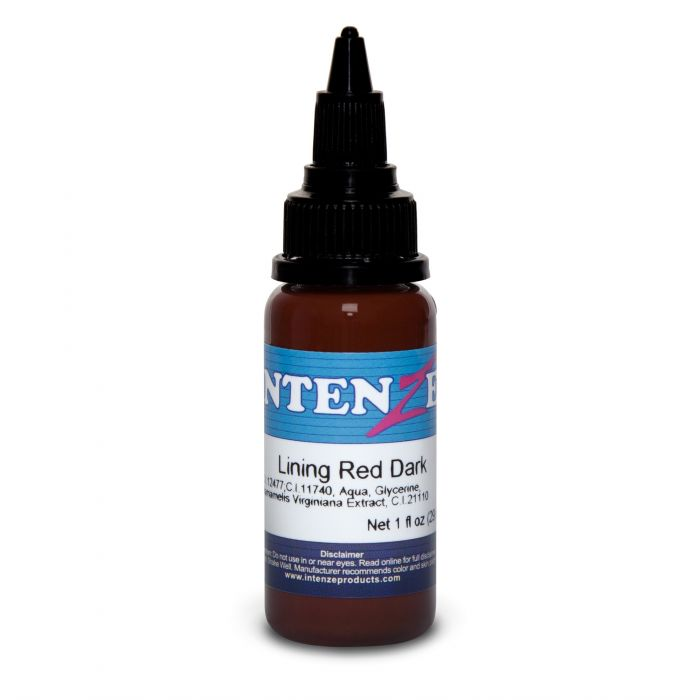Intenze Ink Color Lining Series Lining Red Dark 30ml (1oz)