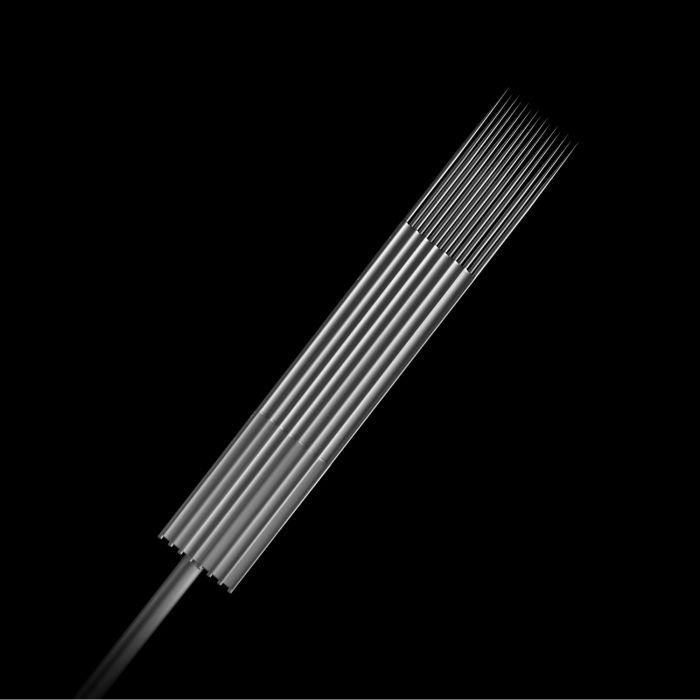 Pakke med 50 stk. Killer Ink Precision 0.35 mm sterile Magnum stacked nåle i rustfrit stål