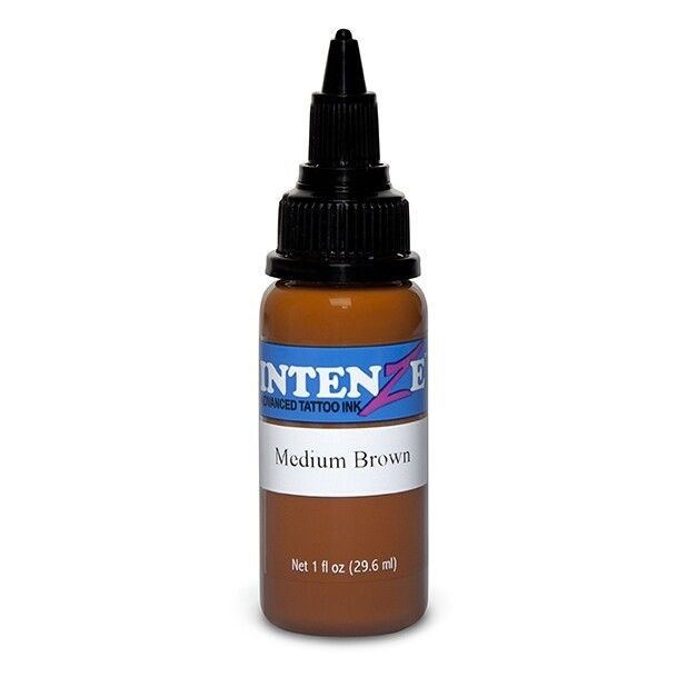 Intenze Ink New Original Medium Brown 30ml (1oz)