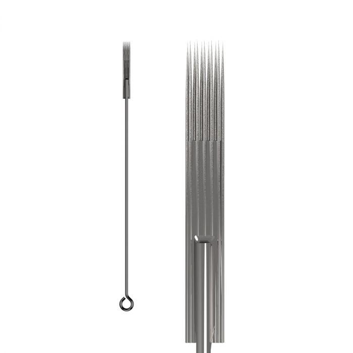 Pakke med 50 stk. KWADRON nåle 0.35 mm LONG TAPER BUGPIN TEXTURED - Magnum