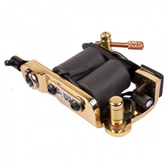 Micky Bee Original Brass Lightning tatoveringsmaskine Colour Packer / Shader - Produceret i England