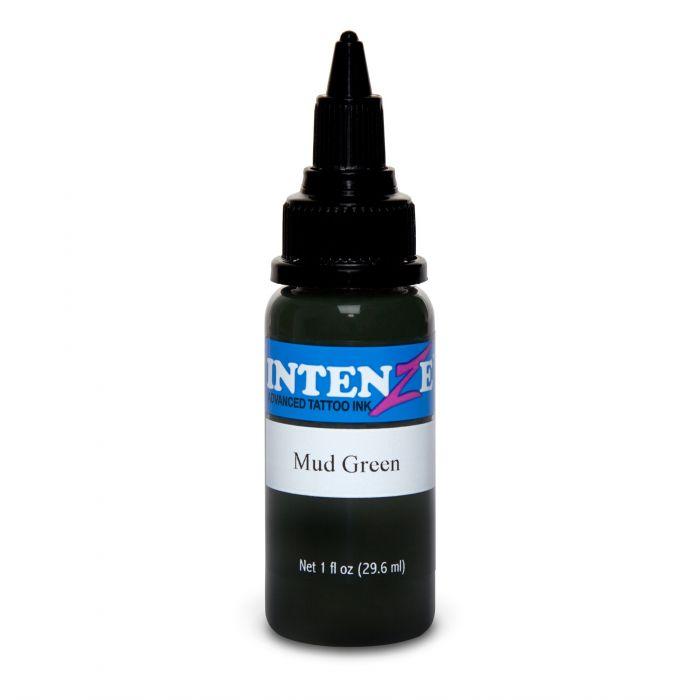 Intenze Ink Earth Tone Mud Green 30ml (1oz)