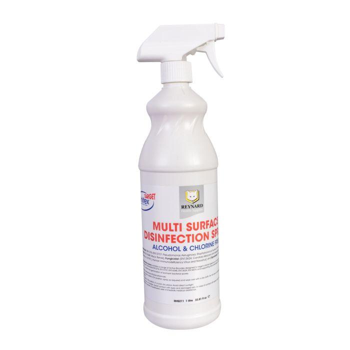 Reynard Multi-Surface desinfektionsspray - Alkohol + klorinfri 1L