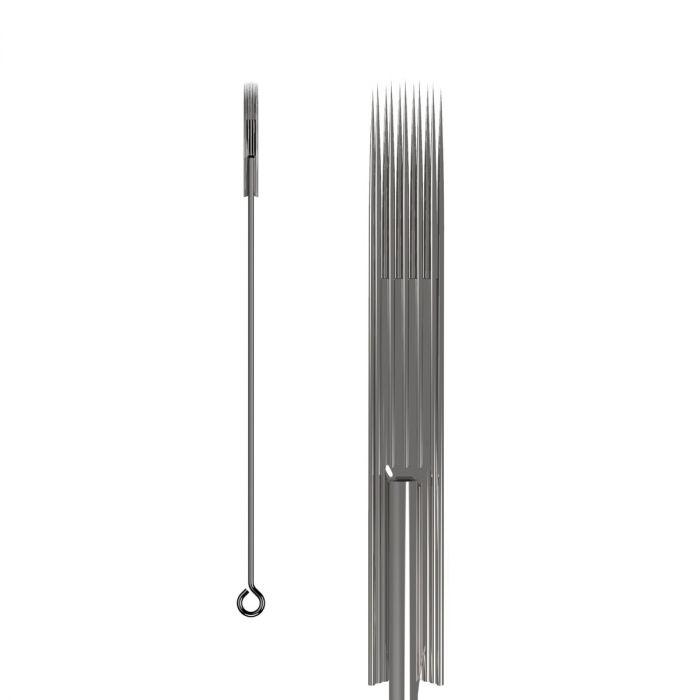 Pakke med 50 stk. KWADRON nåle 0.25 mm LONG TAPER - Soft Edge Magnum