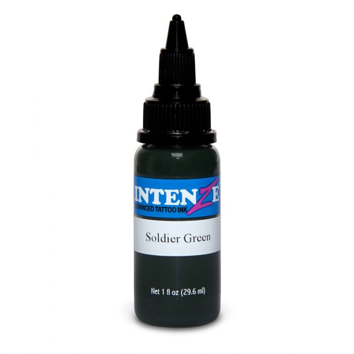 Intenze Ink Soldier Green 30ml (1oz)