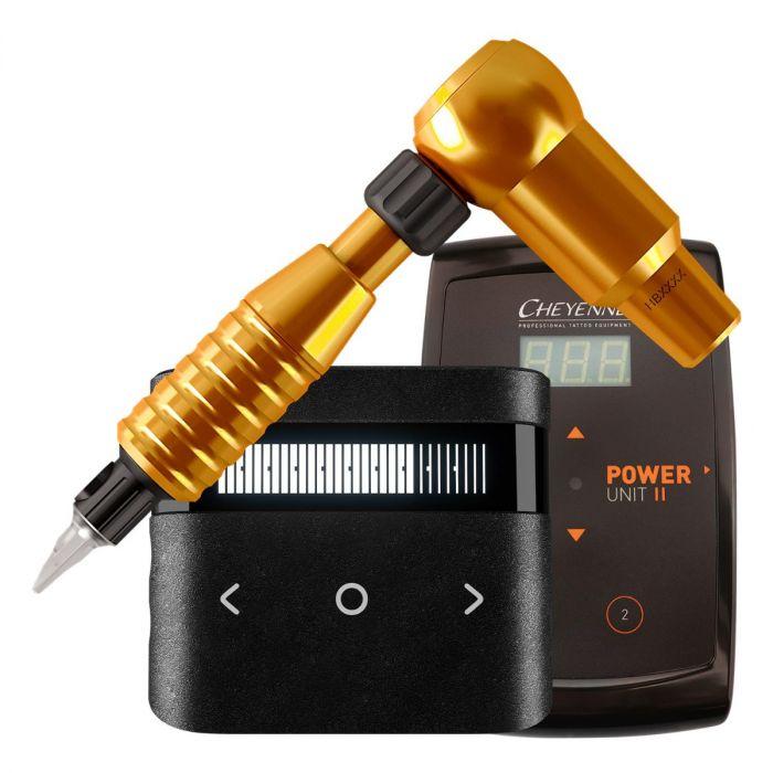Cheyenne Hawk Thunder pakke med drive + greb + power supply i Orange