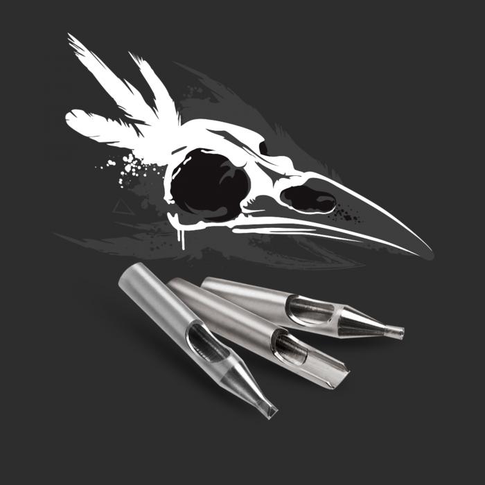 Killer Ink 22 deles basissæt med rund, Diamond tip + Magnum i 316 rustfrit stål